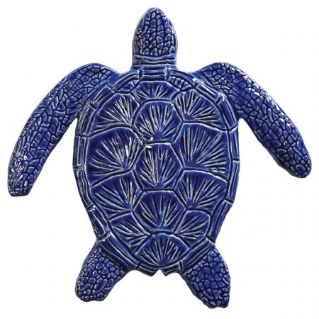 Loggerhead Turtle Blue