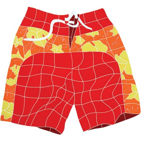 Board Shorts Red